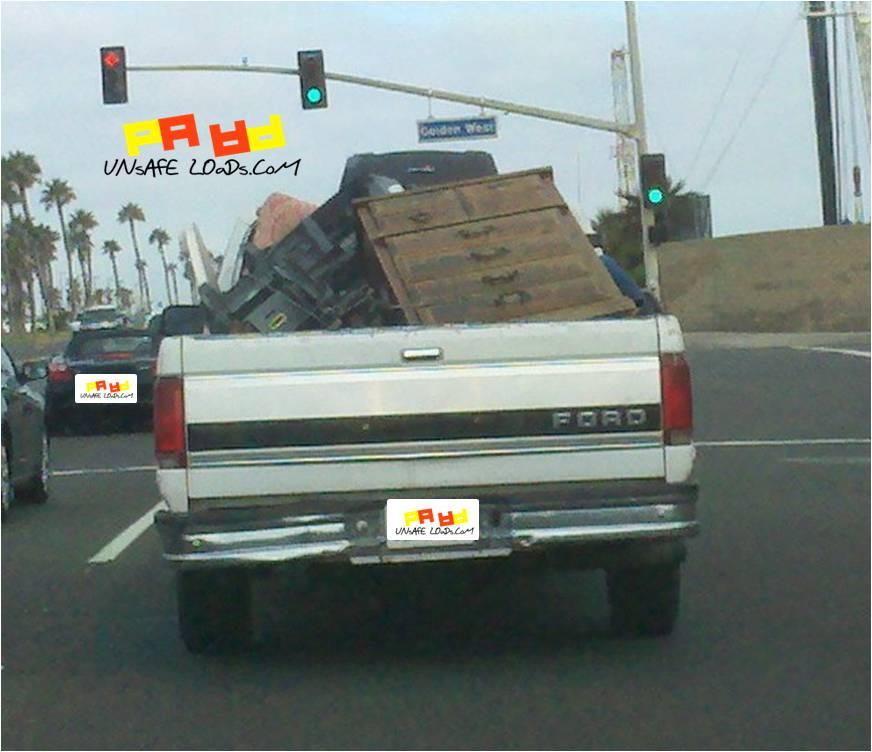 Pickup Truck Overstuffed
