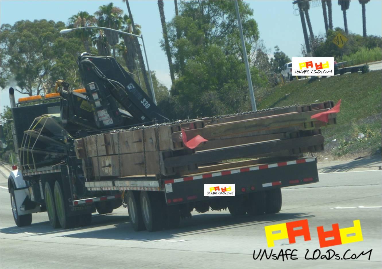 Big rig toting trucking