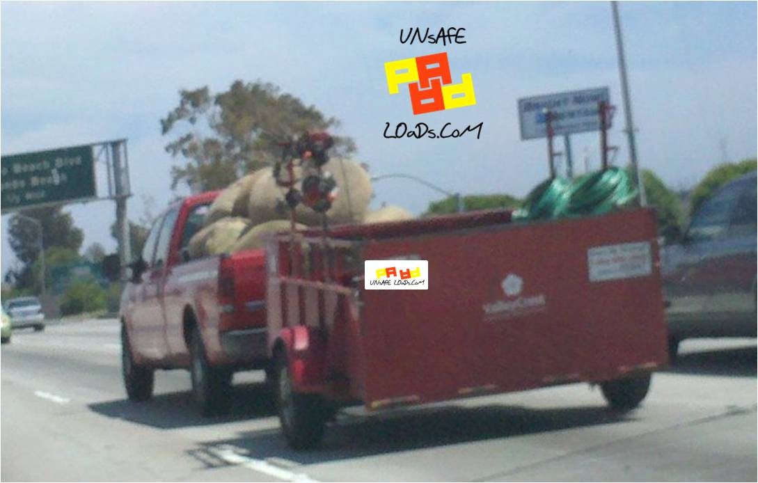 Red unsafe load