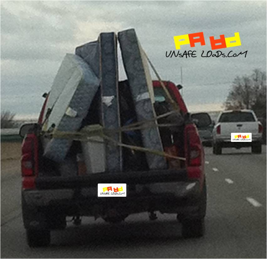 How to load a mattress on a pickup