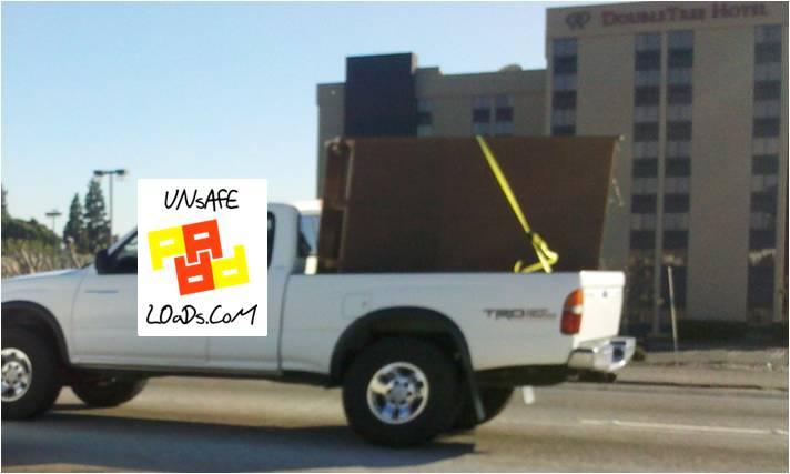 Unsafe Pickup on the 405 Freeway