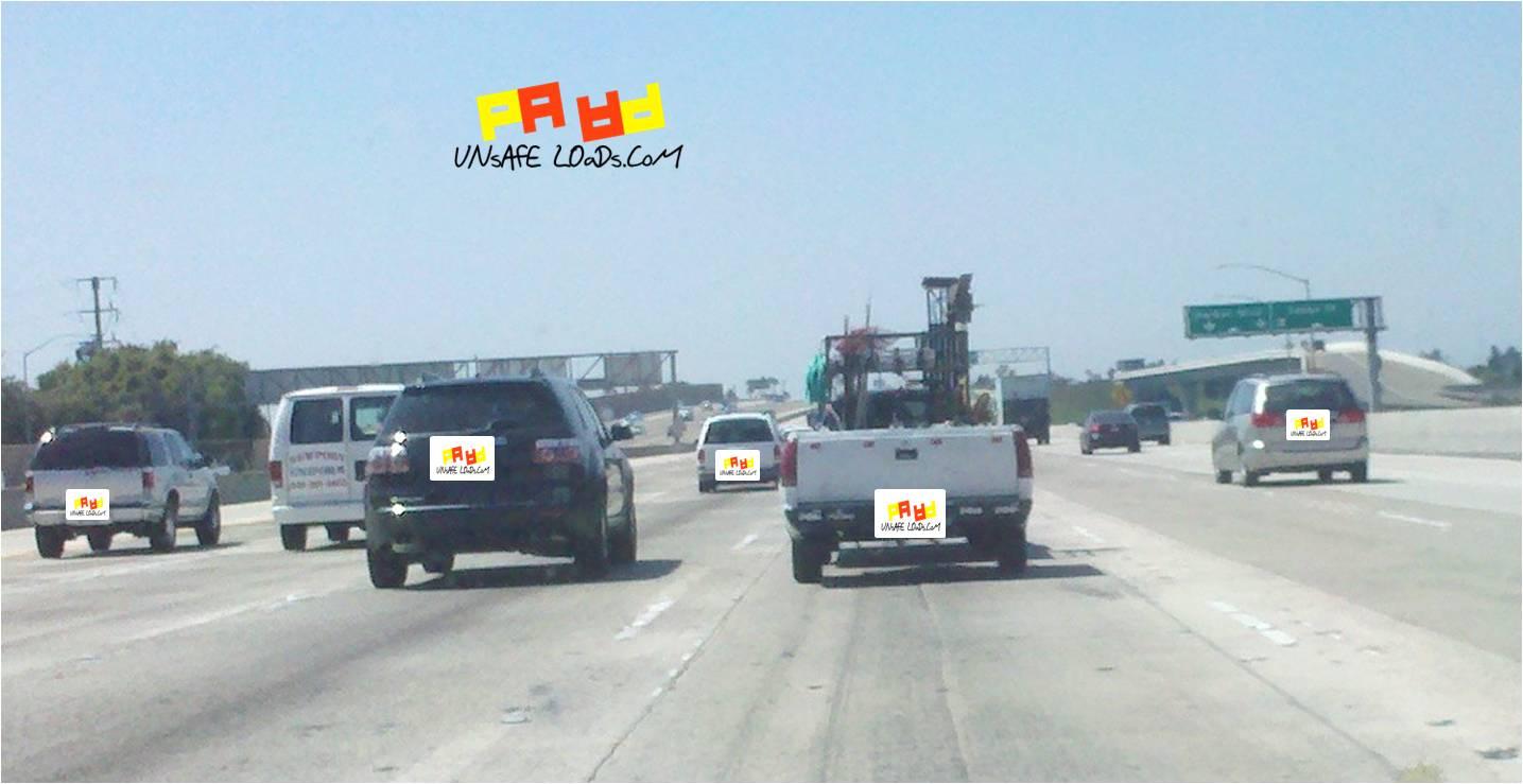 Load on 405 Freeway
